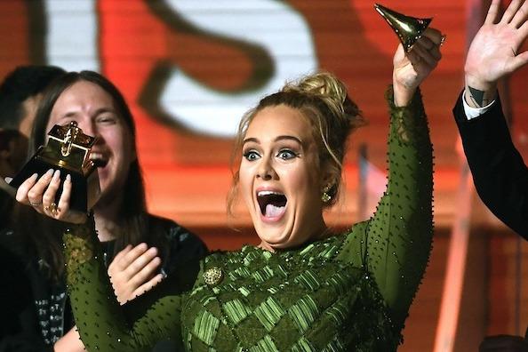 Adele1 Grammy 2017